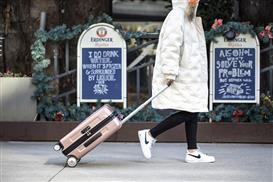 Airwheel SR3 self-driving luggage