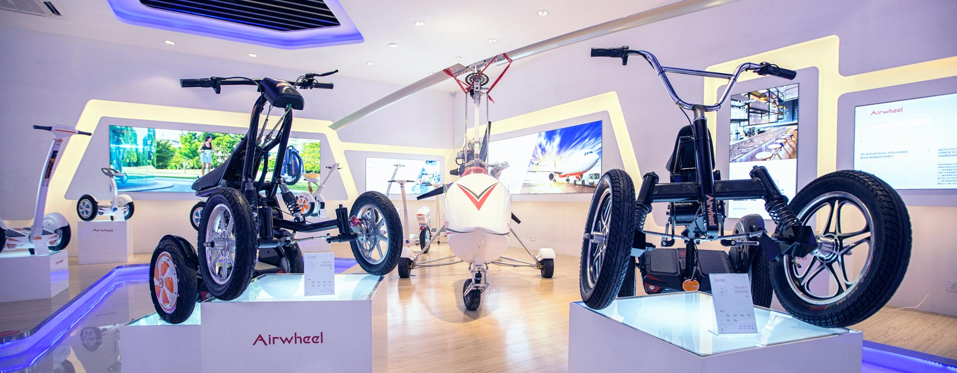 2017 Airwheel New Smart Products Reviews